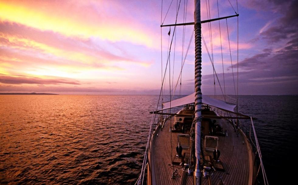 sailing boat nice sky