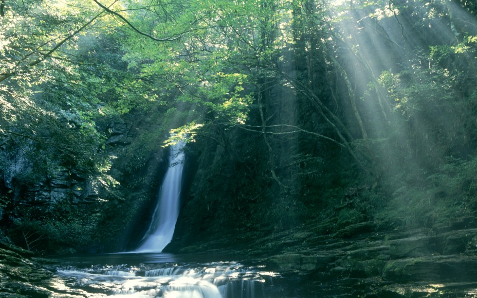 赤目四十八滝 (Akame Shijyuhachi Waterfall, Japan)